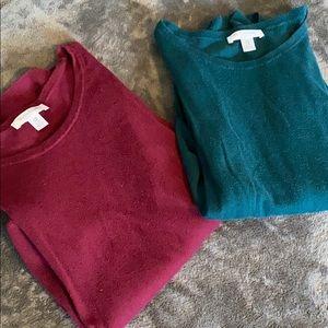 Motherhood Maternity   Bundle of 2 Sweaters